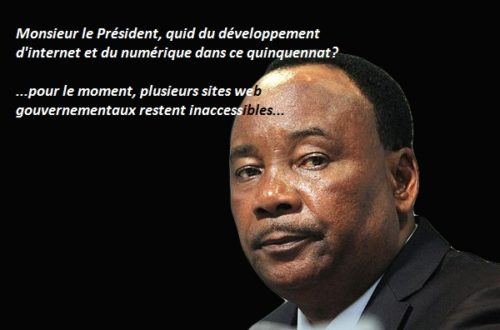 Article : Le développement d'internet est-il une priorité au Niger ?