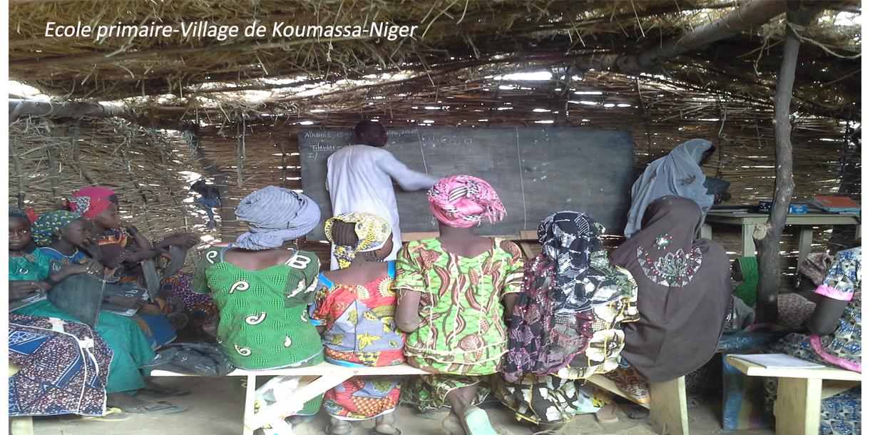 classe de cour au Niger