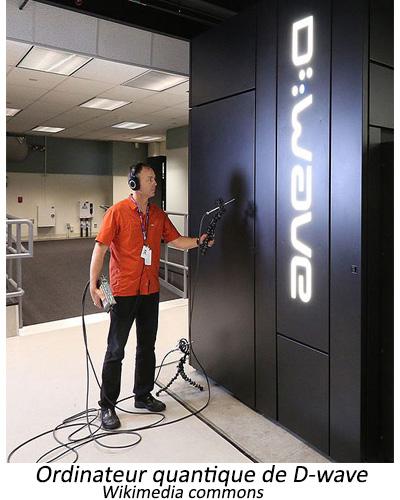 Ordinateur quantique D-wave