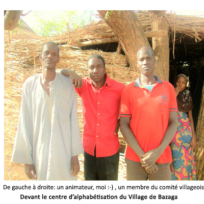 Centre d'alphabétisation de Bazaga