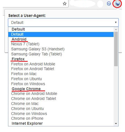 Interface User-Agent