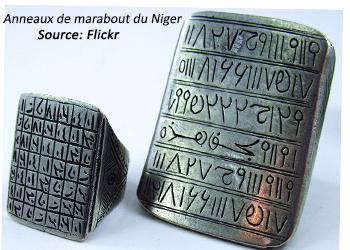 Anneaux de marabout du Niger