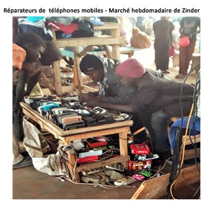 Réparateurs de téléphone mobile
